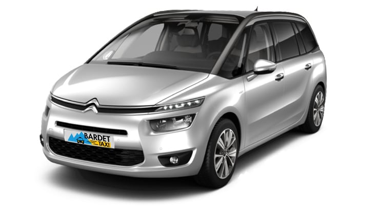 Taxi Transport Citroën C4 Grand Picasso