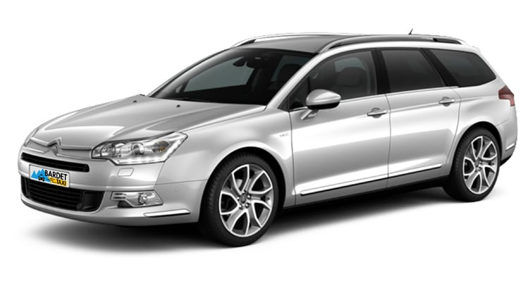 Taxi Transport Citroen C5 Tourer
