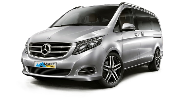Taxi Transport Mercedes Classe V